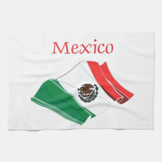 Mexico Flag Kitchen Towel
