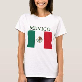 Mexico Flag Ladies Petite T-shirt