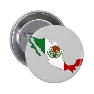 Mexico flag map button