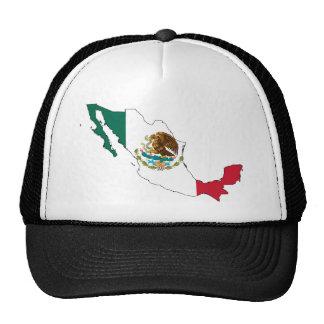 mexico flag map. la Bandera Nacional Trucker Hat
