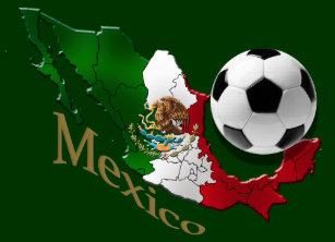 575f5ff6f15 Mexico Flag Map Soccer fans Futbol gifts Classic Round Sticker