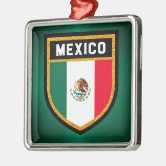 Mexico Flag Metal Ornament