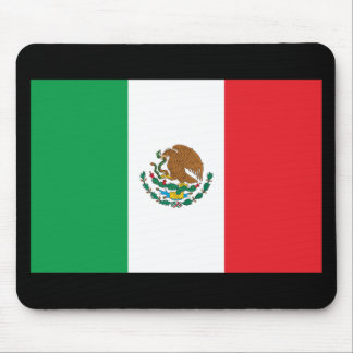 Mexico Flag Mouse Pad