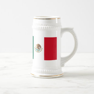 Mexico Flag 18 Oz Beer Stein