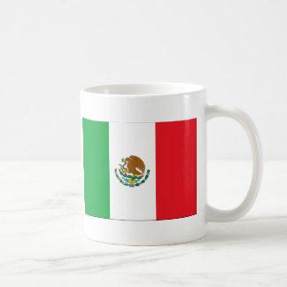 Mexico Flag Classic White Coffee Mug