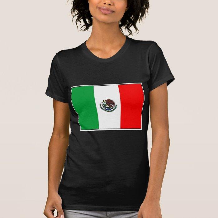 MEXICO FLAG - NATIONAL MEXICAN FLAG T-Shirt