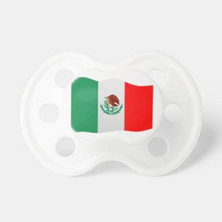 Mexico Flag Pacifier
