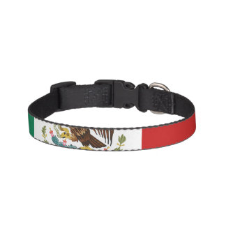 Mexico Flag Pet Collar