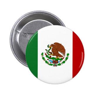 Mexico Flag Pinback Button
