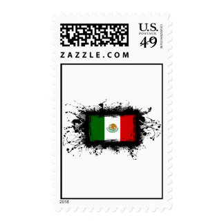 Mexico Flag Stamps