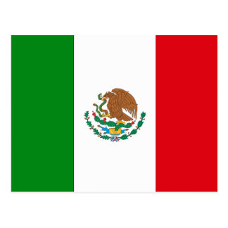 Mexico Flag Post Cards