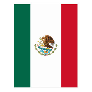 Mexico Flag Postcard