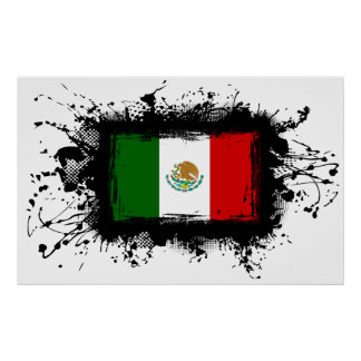 Mexico Flag Poster