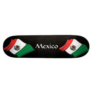 Mexico Flag Skateboard