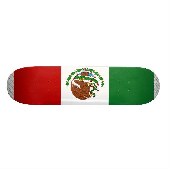 Mexico Flag Skateboard Deck