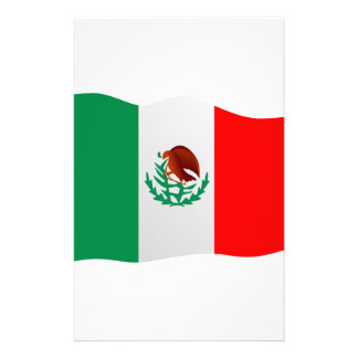 Mexico Flag Stationery