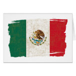 MEXICO FLAG STATIONERY NOTE CARD