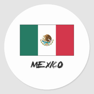 Mexico Flag Stickers