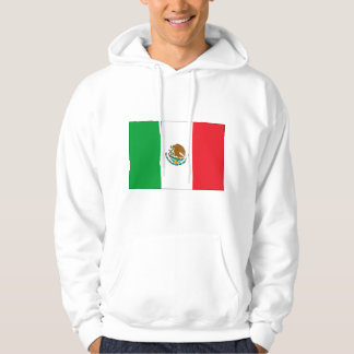Mexico Flag T-Shirt Mexican Flag Hooded Sweatshirt