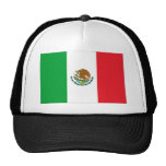 Mexico Flag T-Shirt Mexican Flag Mesh Hats