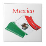 Mexico Flag Tile