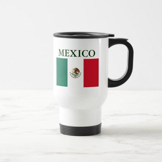 Mexico Flag Travel Mug