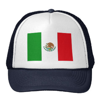 Mexico Flag Trucker Hat