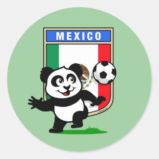 Mexico Football Panda Sticker