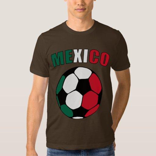 México Footy (oscuro) Playeras