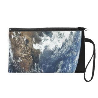Mexico from Space Wristlet Clutch