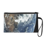 Mexico from Space Wristlet Clutches