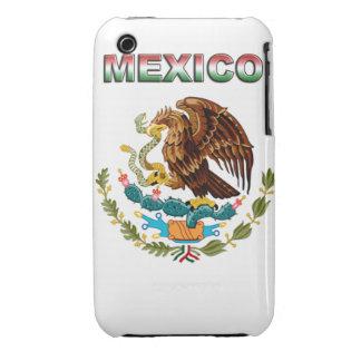 México iPhone 3 Case-Mate Cárcasa