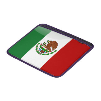 Mexico glossy flag sleeve for MacBook air