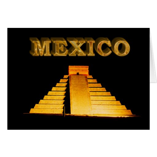 Mexico Greeting Card