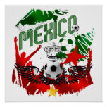 Mexico Grunge Stunning artwork gifts for fans Poster