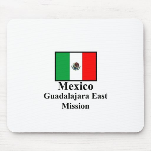 Mexico Guadalajara East LDS Mission Mousepad