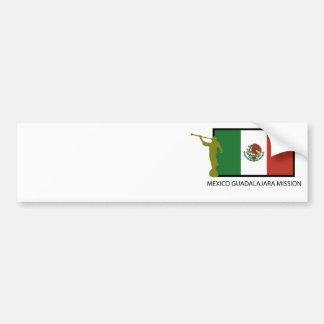 MEXICO GUADALAJARA MISSION LDS CTR BUMPER STICKER