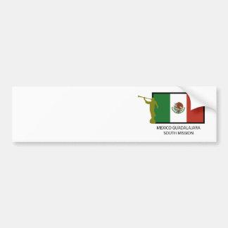 MEXICO GUADALAJARA SOUTH MISSION LDS CTR BUMPER STICKER