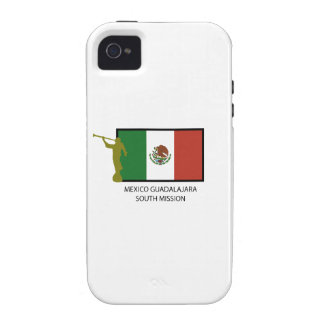 MEXICO GUADALAJARA SOUTH MISSION LDS CTR iPhone 4 CASES