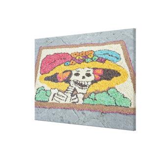 Mexico, Guanajuato, San Miguel de Allende, Day Canvas Print