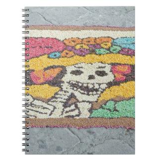 Mexico, Guanajuato, San Miguel de Allende, Day Spiral Notebook