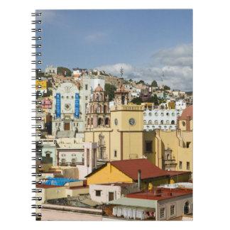 Mexico, Guanajuato State, Guanajuato. Basilica Spiral Notebook