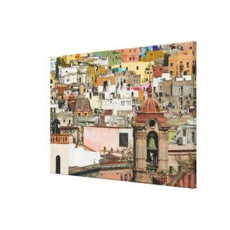 Mexico, Guanajuato State, Guanajuato. Templo de 2 Canvas Print