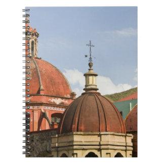 Mexico, Guanajuato State, Guanajuato. Templo de Spiral Notebook
