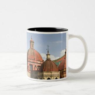 Mexico, Guanajuato State, Guanajuato. Templo de Two-Tone Coffee Mug