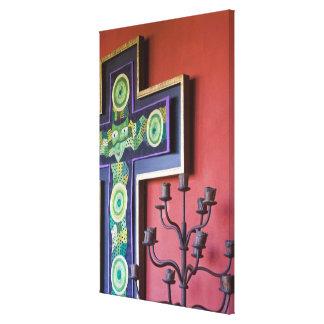 Mexico, Guanajuato state, San Miguel. Casa de la 2 Canvas Print