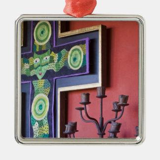 Mexico, Guanajuato state, San Miguel. Casa de la 2 Metal Ornament