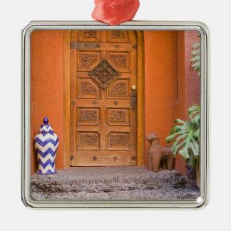 Mexico, Guanajuato state, San Miguel. Casa de la Metal Ornament