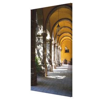 Mexico, Guanajuato state, San Miguel de Allende. Canvas Prints