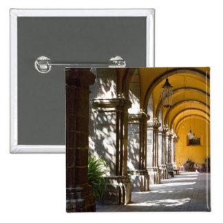 Mexico, Guanajuato state, San Miguel de Allende. Pinback Button